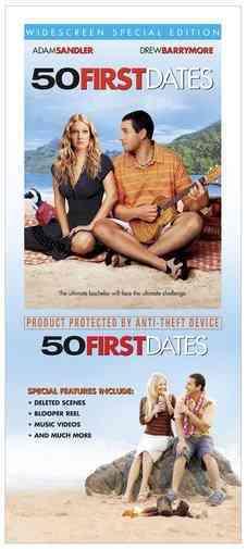 50 FIRST DATES BY SANDLER,ADAM (DVD)