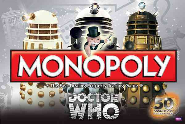 USAopoly Monopoly : Doctor Who 50th Anniversary Collector�s Edition By Usaopoly (COR) at Sears.com